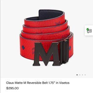 """MCM Reversible Belt AUTHENTIC52"""""""